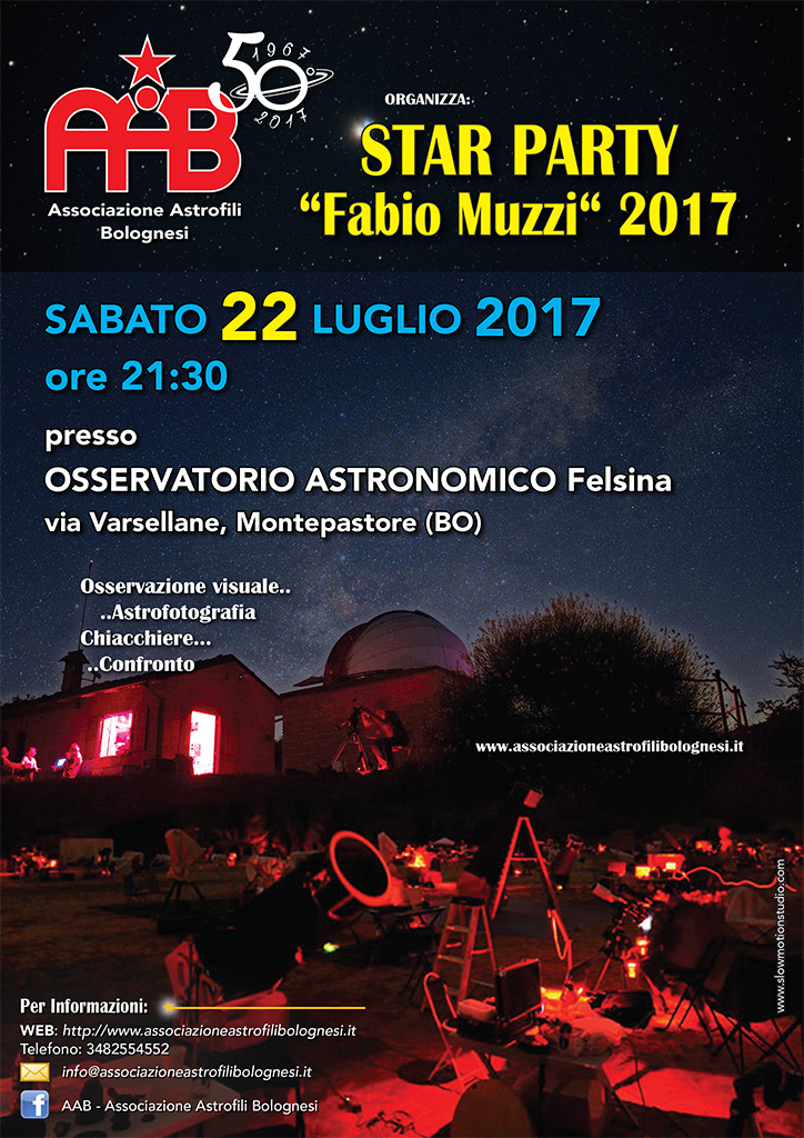 STAR PARTY Fabio Muzzi 2017
